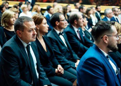 Uroczysta Gala podsumowujaca Projekt Hoovera - 18.10.2018, Galeria XIX wieku w Sukiennicach w Krakowie.
